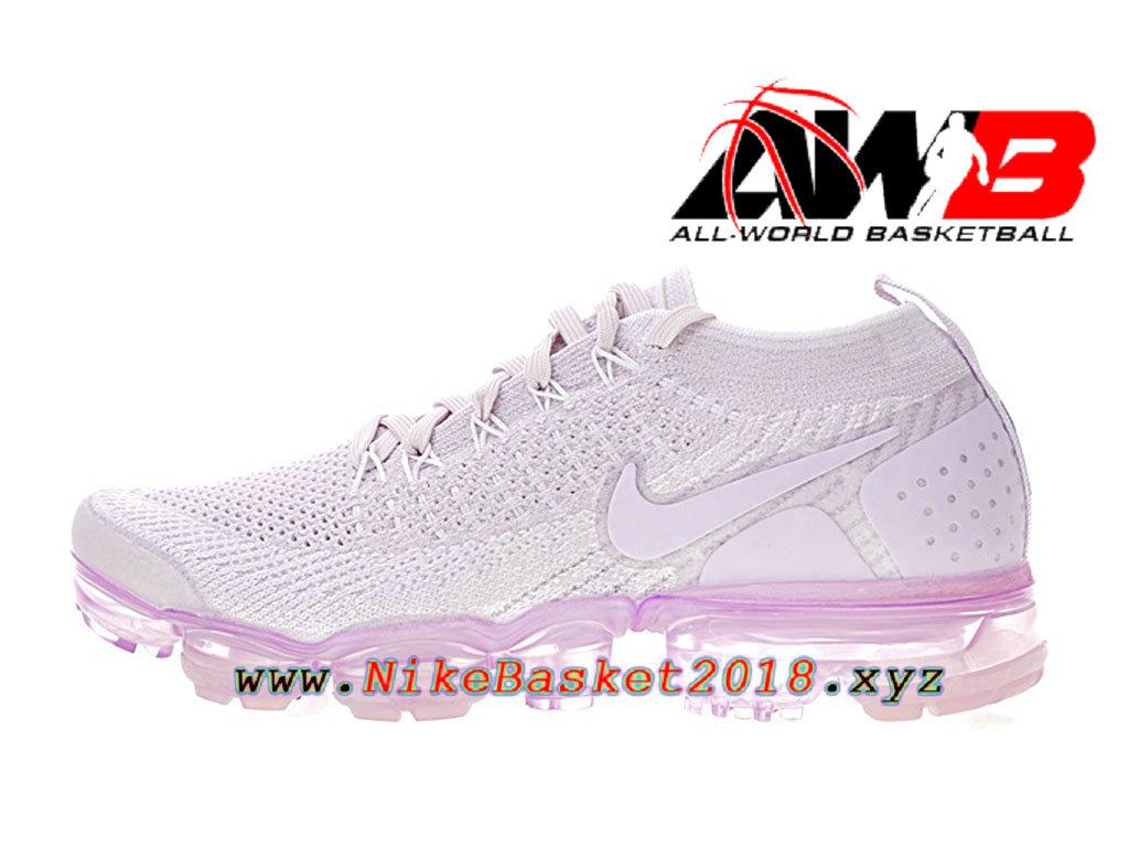 designer fashion cc062 c335b Chaussure de BasketBall Pas Cher Pour Femme Enfant Nike Air VaporMax  Flyknit 2.0 W Rose