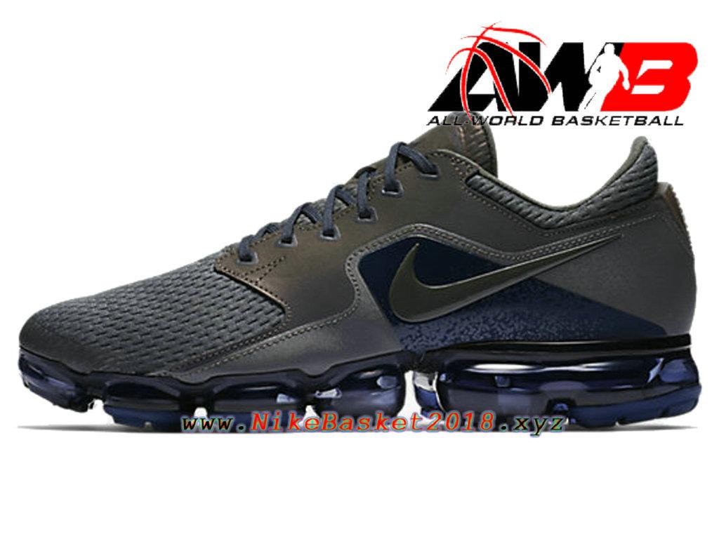 premium selection a5864 703a4 Chaussure de BasketBall Pas Cher Pour Homme Nike Air VaporMax R Noir  AJ4469-002 ...