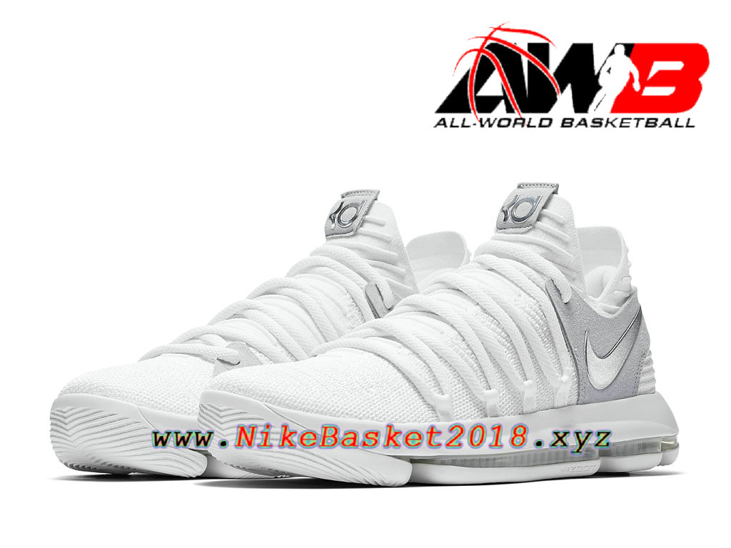 pretty nice 9c6aa bf114 ... Chaussure de BasketBall Pas Cher Pour Homme Nike KD 10 Still KD  897815 100 ...