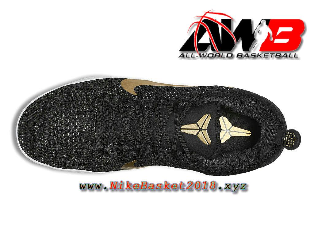 newest 56bcb c2c70 ... Chaussure de BasketBall Pas Cher Pour Homme Nike Kobe 11 Elite GCR Noir  Or 885869_070 ...