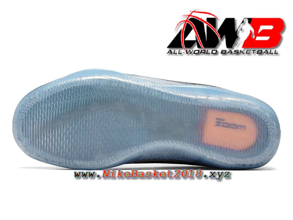 promo code ff71d cfb43 ... Chaussure de BasketBall Pas Cher Pour Homme Nike Kobe 11 Elite TV Noir  Gris 822945_002 ...