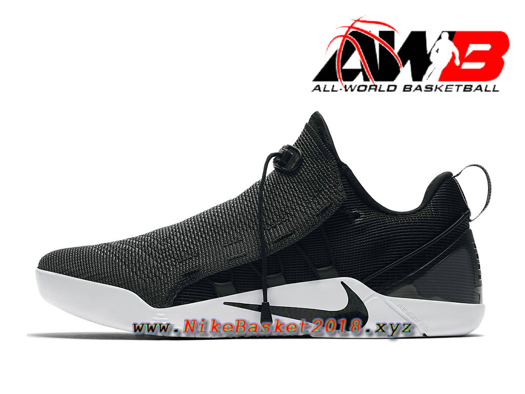 huge selection of 4006f c9dd6 Chaussure de BasketBall Pas Cher Pour Homme Nike Kobe A.D NXT Blanc Noir  882049 007 ...