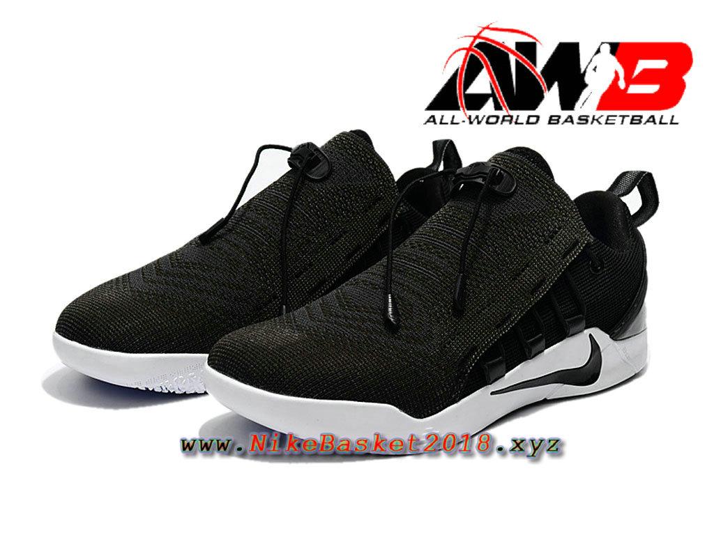 the latest fca1e 8345d ... Chaussure de BasketBall Pas Cher Pour Homme Nike Kobe A.D. NXT Noir  Blanc 882049-007 ...