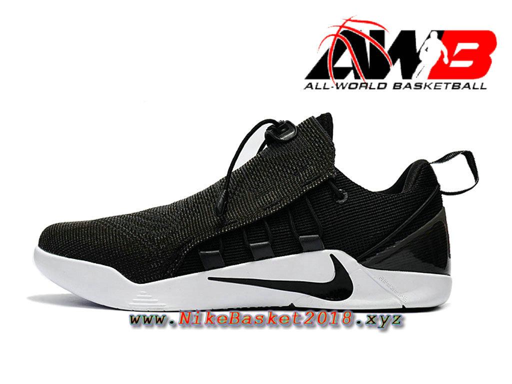 best loved eab22 9a944 Chaussure de BasketBall Pas Cher Pour Homme Nike Kobe A.D. NXT Noir Blanc  882049-007 ...