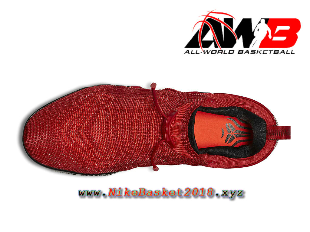 474457882ff ... Chaussure de BasketBall Pas Cher Pour Homme Nike Kobe AD NXT Rouge Noir  882049 600 ...