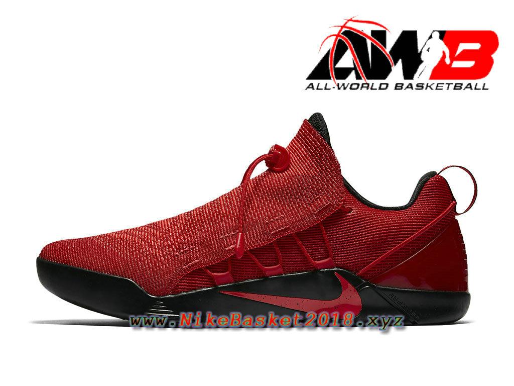 check out a8fe2 ea3b4 Chaussure de BasketBall Pas Cher Pour Homme Nike Kobe AD NXT Rouge Noir  882049 600 ...