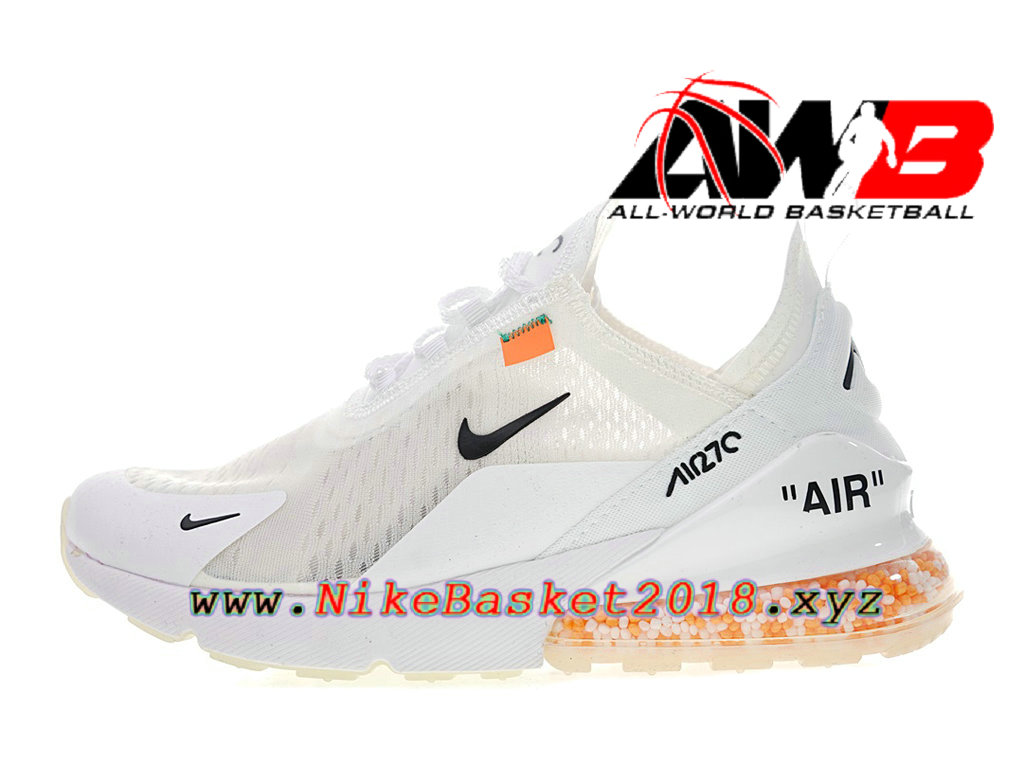differently ffbb9 60824 Chaussure de Runing Pas Cher Pour Femme Enfant Off white x Nike Air Max 270