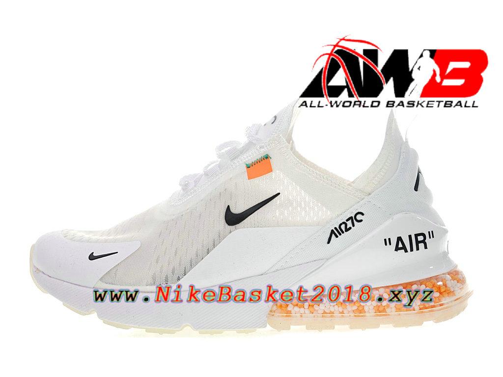 d3cefa2a1a9f Chaussure de Runing Pas Cher Pour Femme/Enfant Off white x Nike Air Max 270
