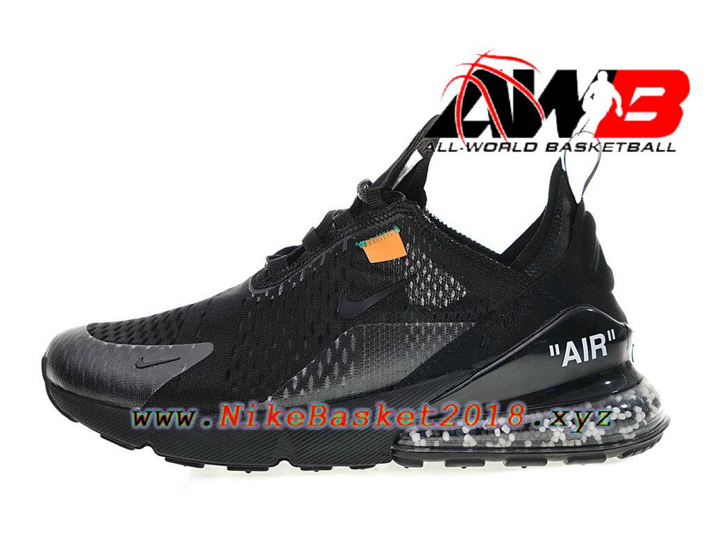 aea5c85d12ad2 Chaussure de Runing Pas Cher Pour Femme Enfant Off white x Nike Air Max 270