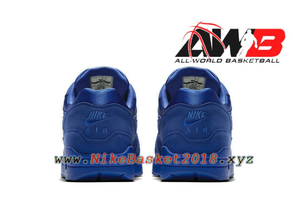 wholesale dealer 05085 05354 ... Chaussures de Basket Pas Cher Pour Homme Nike Air Max 1 PRM Bleu 875844- 400
