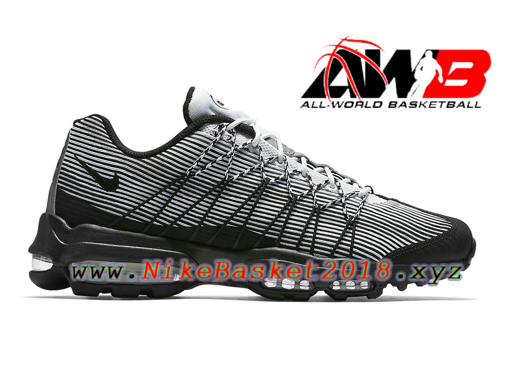 new styles a3cf4 0bb62 Chaussures de BasketBall Pas Cher Pour Femme Enfant Nike Air Max 95 Ultra  Jacquard GS