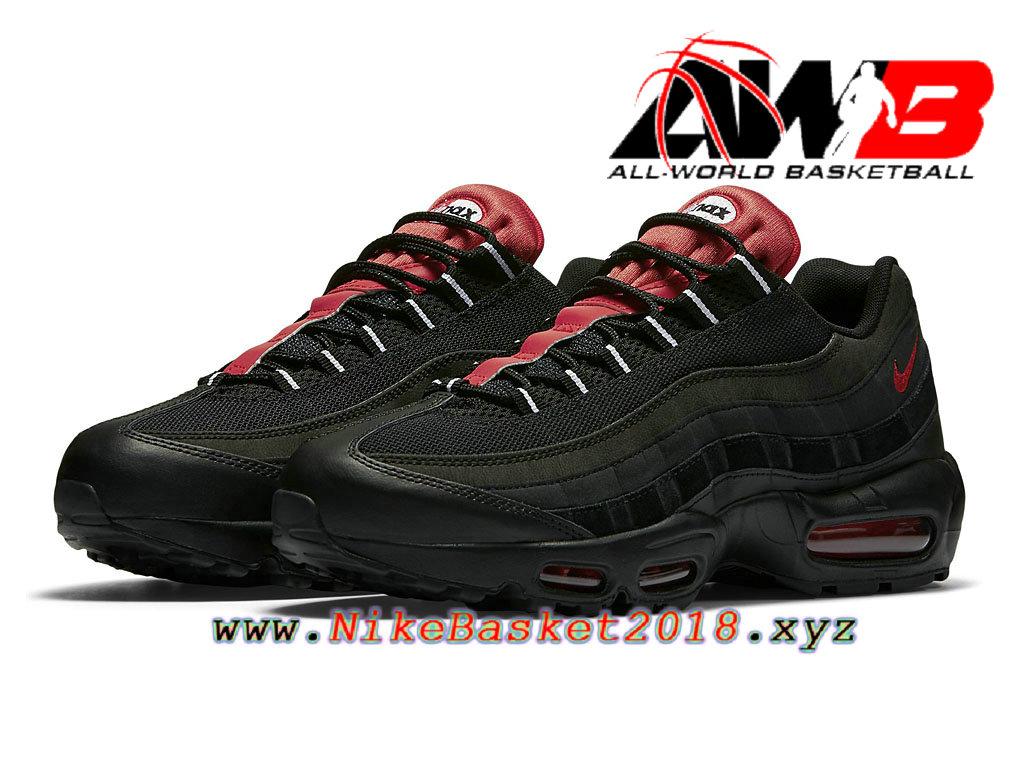 air max 95 noir et rouge homme