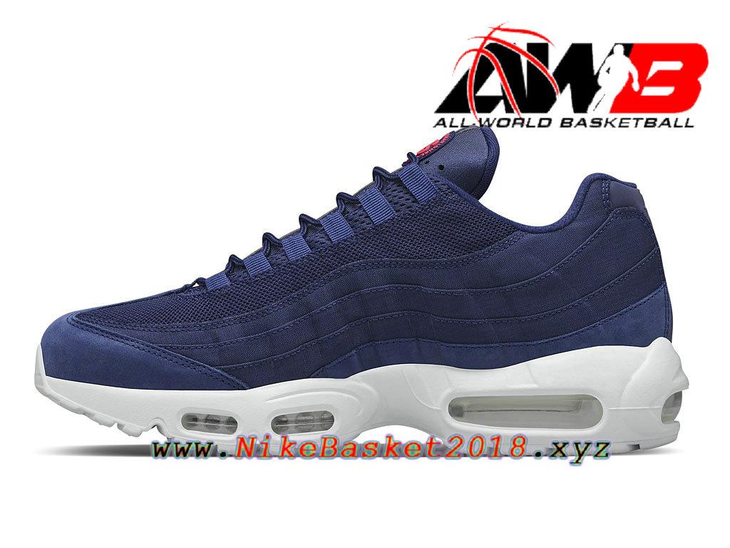 2ff5ed39ef31a ... spain chaussures de basketball pas cher pour homme nike air max 95 sp  bleu blanc 834668441