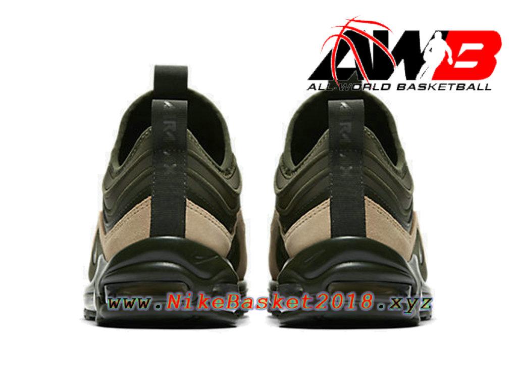 best service 19f5f 7716c ... Chaussures de BasketBall Pas Cher Pour Homme Nike Air Max 97 Ul ´17 Se  Vert