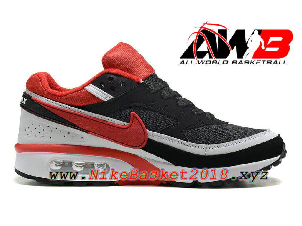 get online check out pick up Chaussures de BasketBall Pas Cher Pour Homme Nike Air Max BW Noir ...