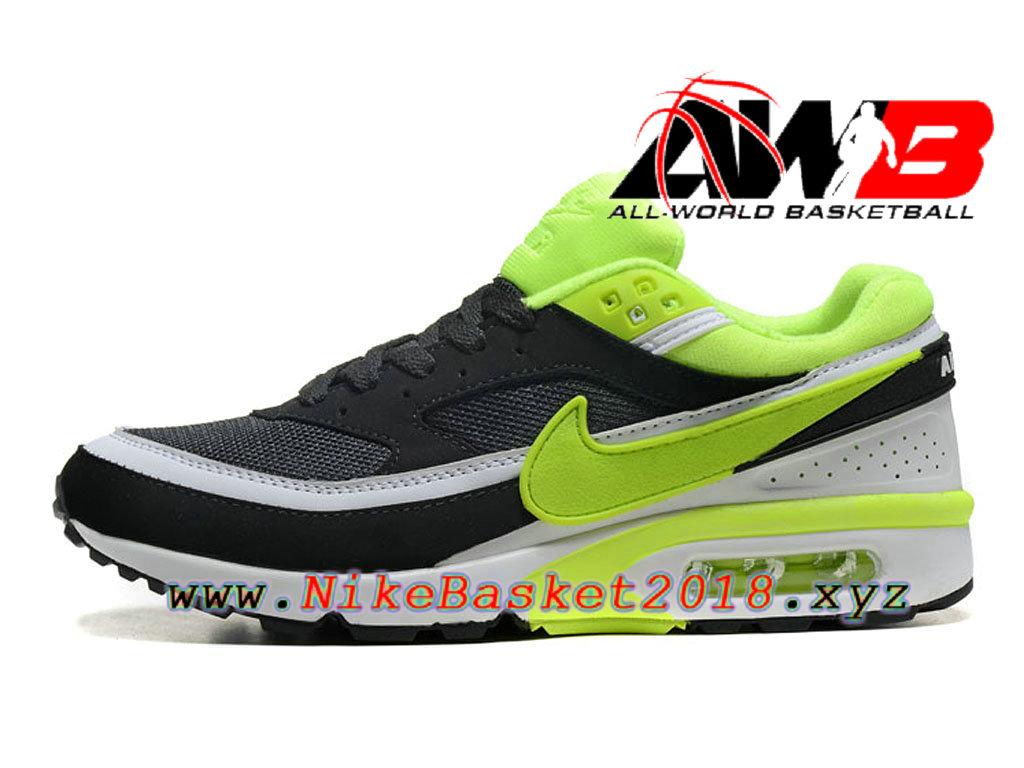 air max bw noir et vert