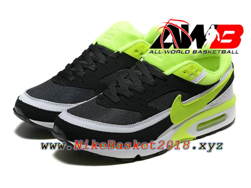 Chaussures de BasketBall Pas Cher Pour Homme Nike Air Max BW Noir Vert 819475_A006 1802200834 Nike Site Officiel | Boutique de Chaussures de