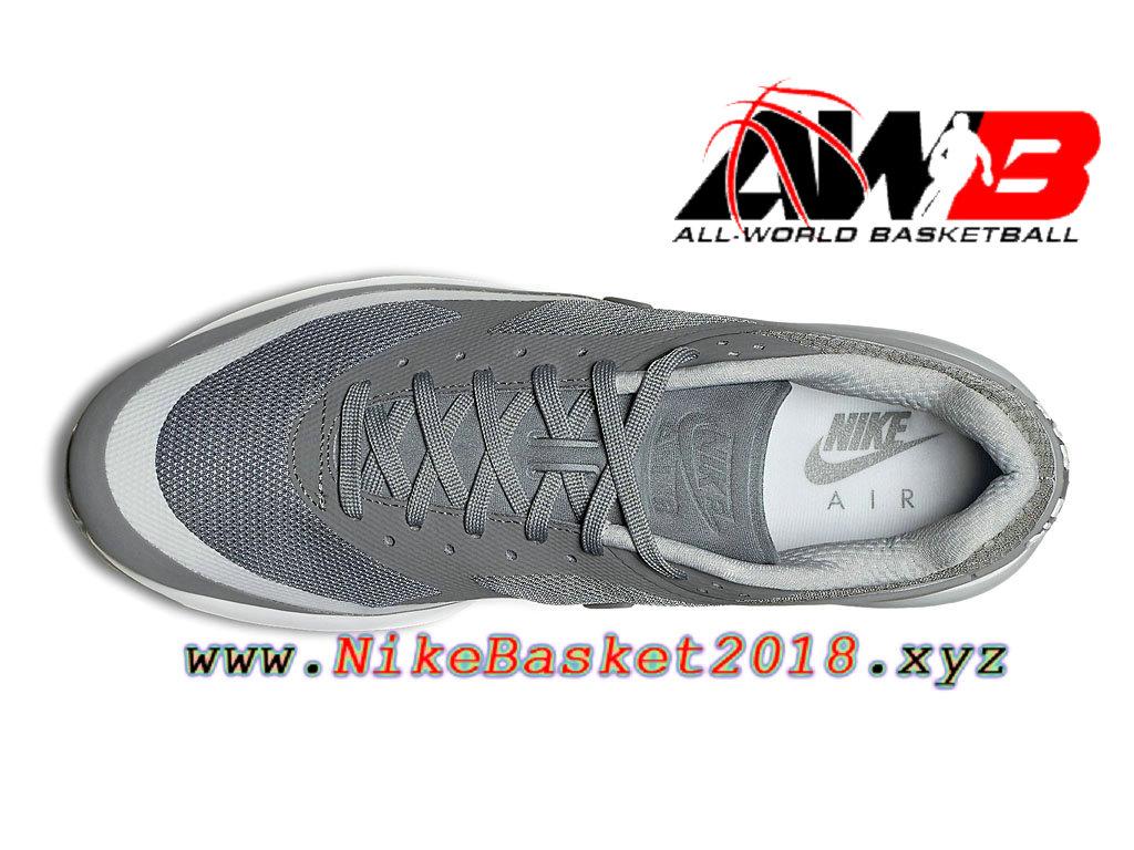 best loved e8256 d8a16 australia chaussures de basketball pas cher pour homme nike air max bw  ultra gris blanc 819475011