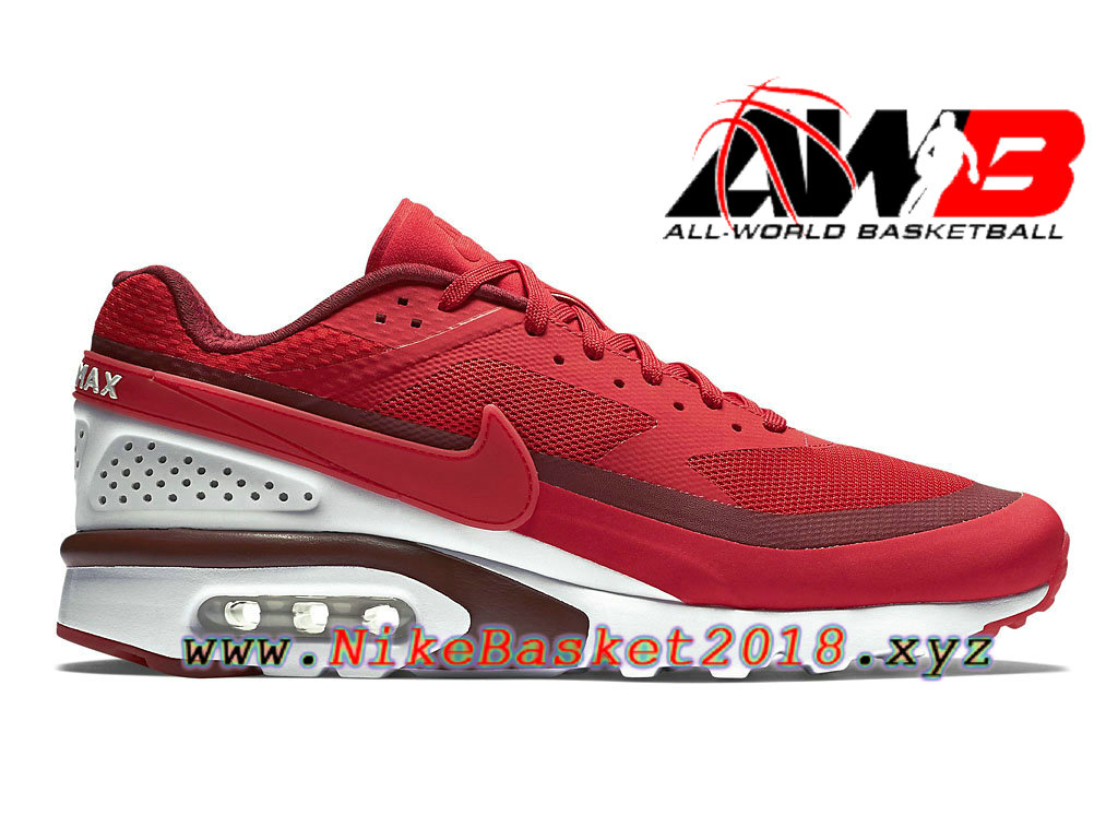 new product f0a47 2ad80 Chaussures de BasketBall Pas Cher Pour Homme Nike Air Max BW Ultra Rouge  Blanc 819475 616