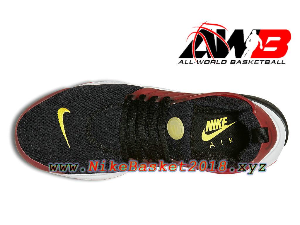 55189257b ... Chaussures de BasketBall Pas Cher Pour Homme Nike Air Presto Essential  Bred Noir Rouge 848187_006 ...