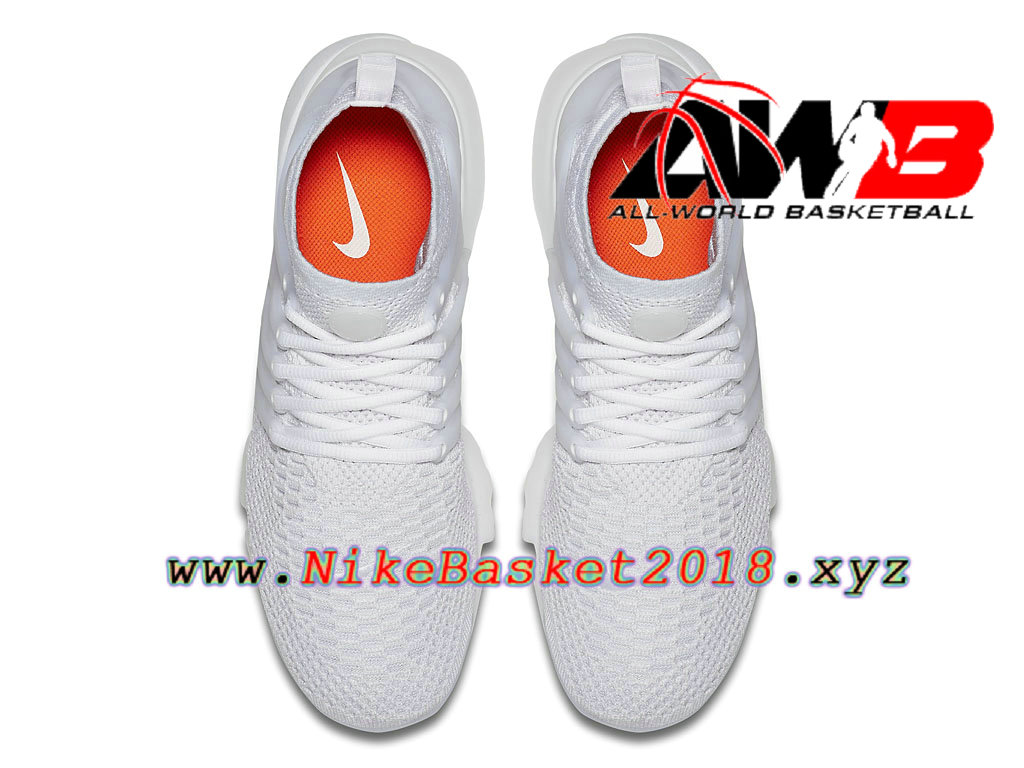 low priced fcbe6 60023 ... Chaussures de BasketBall Pas Cher Pour Homme Nike Air Presto Flyknit  Ultra Blanc 835570 100 ...