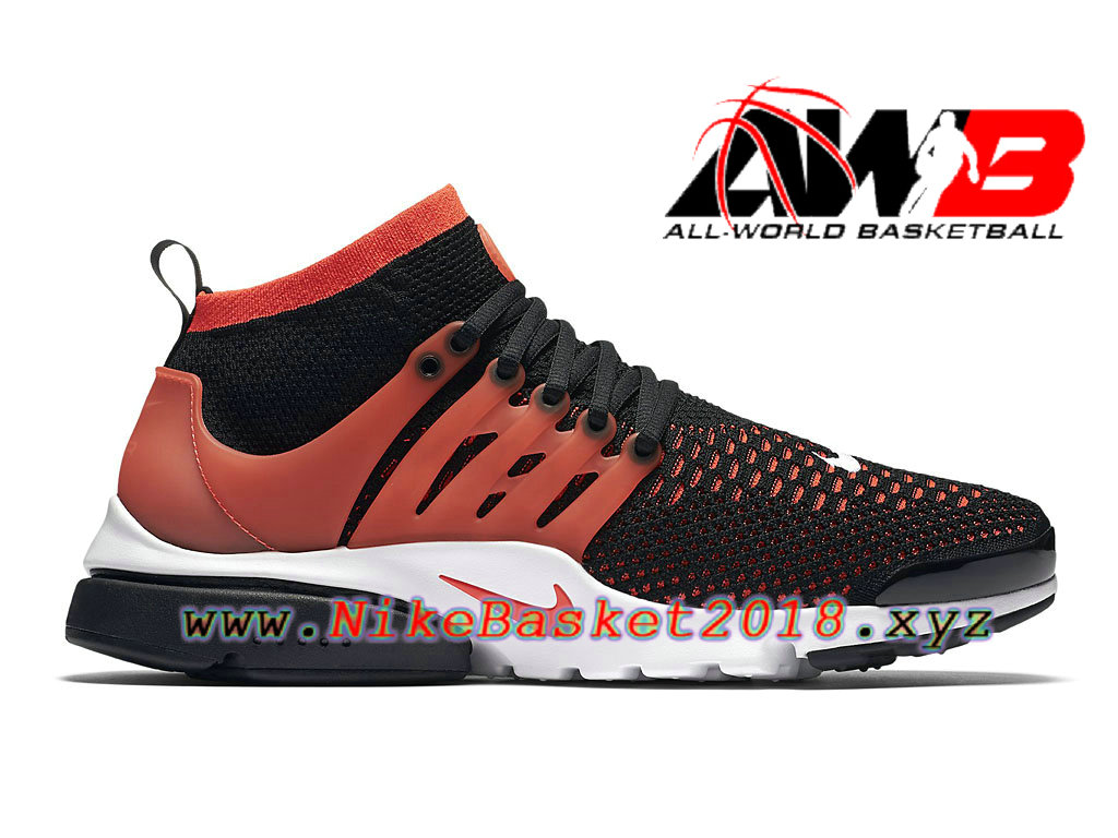 competitive price a4900 01276 Chaussures de BasketBall Pas Cher Pour Homme Nike Air Presto Flyknit Ultra  Rose Noir 835570 006 ...