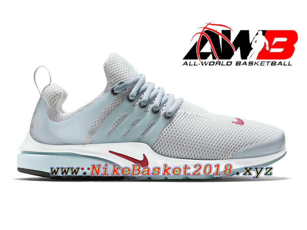 on sale a2332 af2d5 Chaussures de BasketBall Pas Cher Pour Homme Nike Air Presto Unholy Cumulus  Blanc Bleu 789870 181 ...