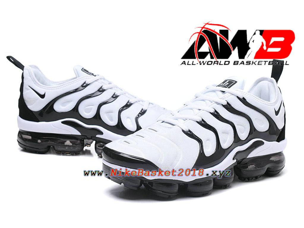 Chaussures de BasketBall Pas Cher Pour Homme Nike Air VaporMax Plus 2018 Noir Blanc 1803080909 Nike Site Officiel | Boutique de Chaussures de