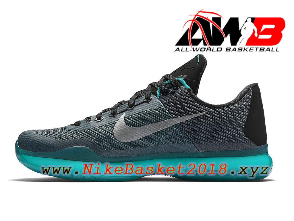 reputable site d8caf 0fb04 ... Chaussures de BasketBall Pas Cher Pour Homme Nike Kobe 10 Bleu Noir  705317_002 ...