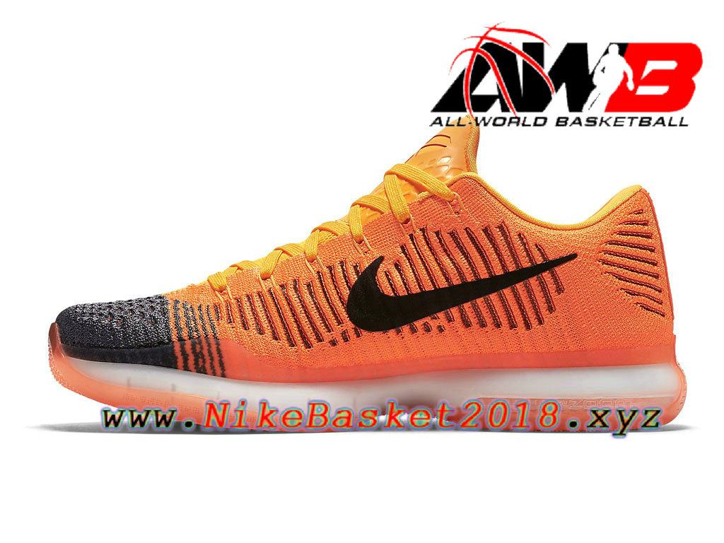 cheap for discount e33f3 41070 ... france chaussures de basketball pas cher pour homme nike kobe 10 elite  low jaune noir 747212