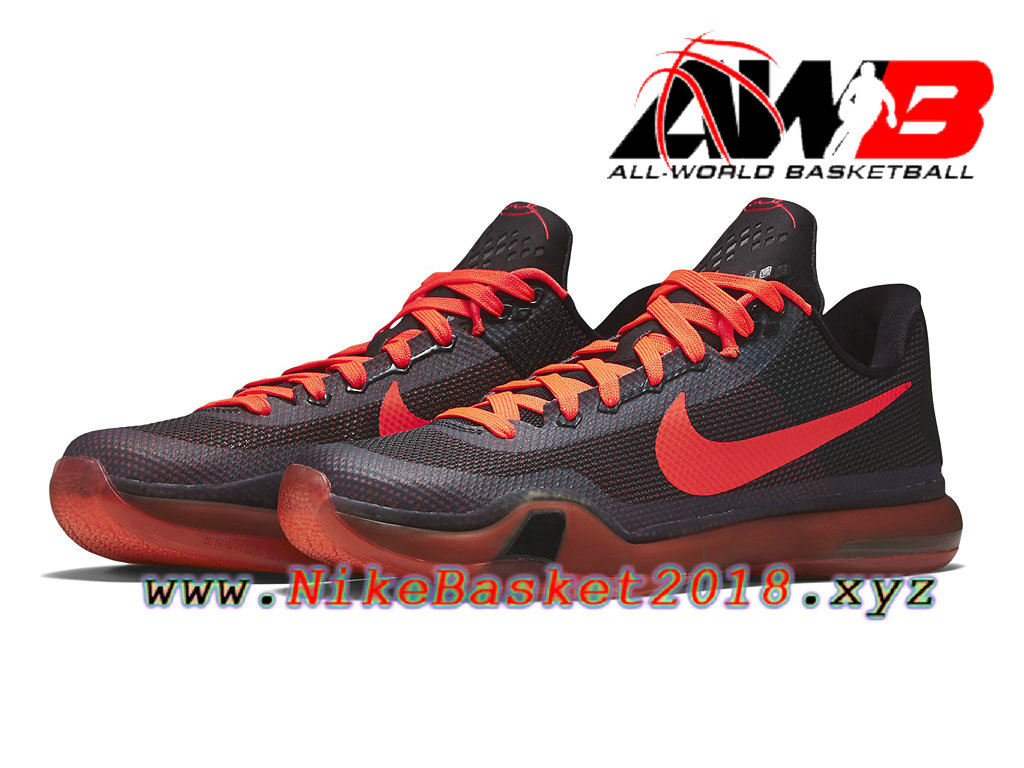 new concept 60818 9be94 ... Chaussures de BasketBall Pas Cher Pour Homme Nike Kobe 10 Rouge  705317-060 ...