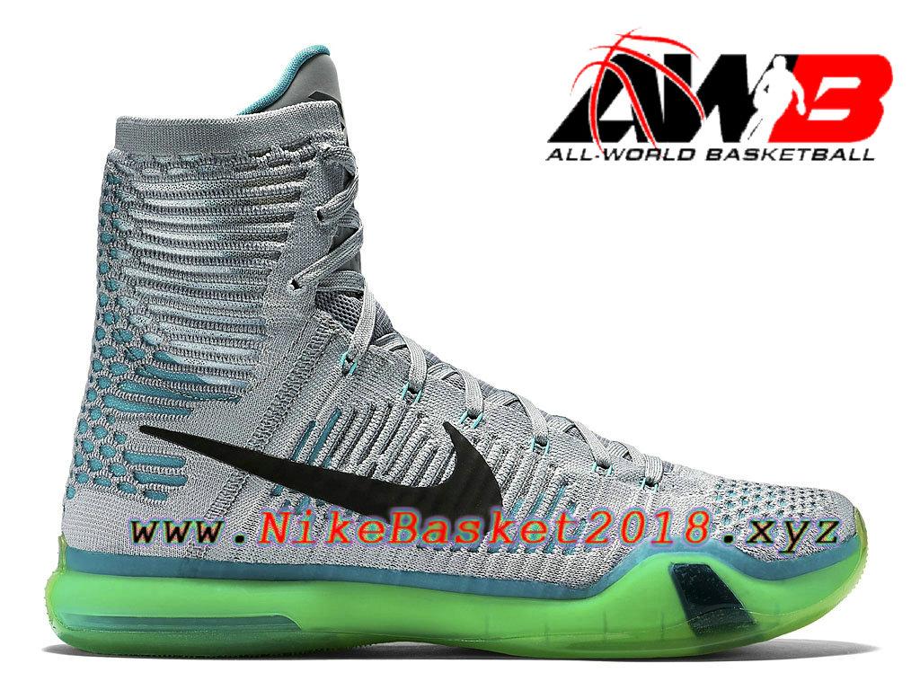 the best attitude 09042 cf5a1 Chaussures de BasketBall Pas Cher Pour Homme Nike Kobe X Elite Elevate  718763-041 ...