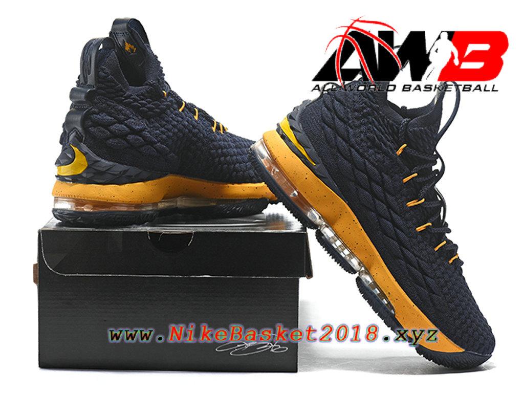 9505d15f6054b ... france chaussures de basketball pas cher pour homme nike lebron 15 prix  noir jaune 897648 id16