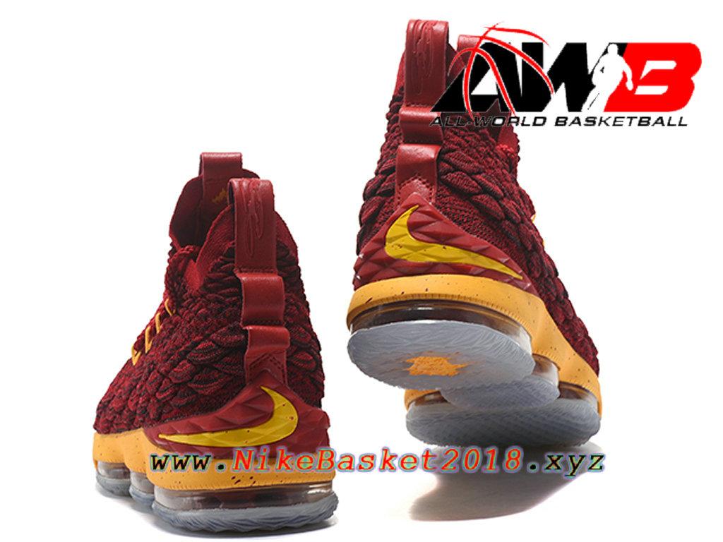 34393a4820ec8 ... shop chaussures de basketball pas cher pour homme nike lebron 15 prix  rouge jaune 897648 id17