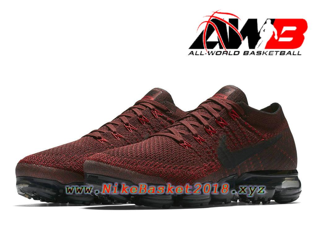 97a1131b653bcc ... Chaussures de Prix Pas Cher Pour Femme Nike Air VaporMax GS Dark Team  Red 849558_601 ...