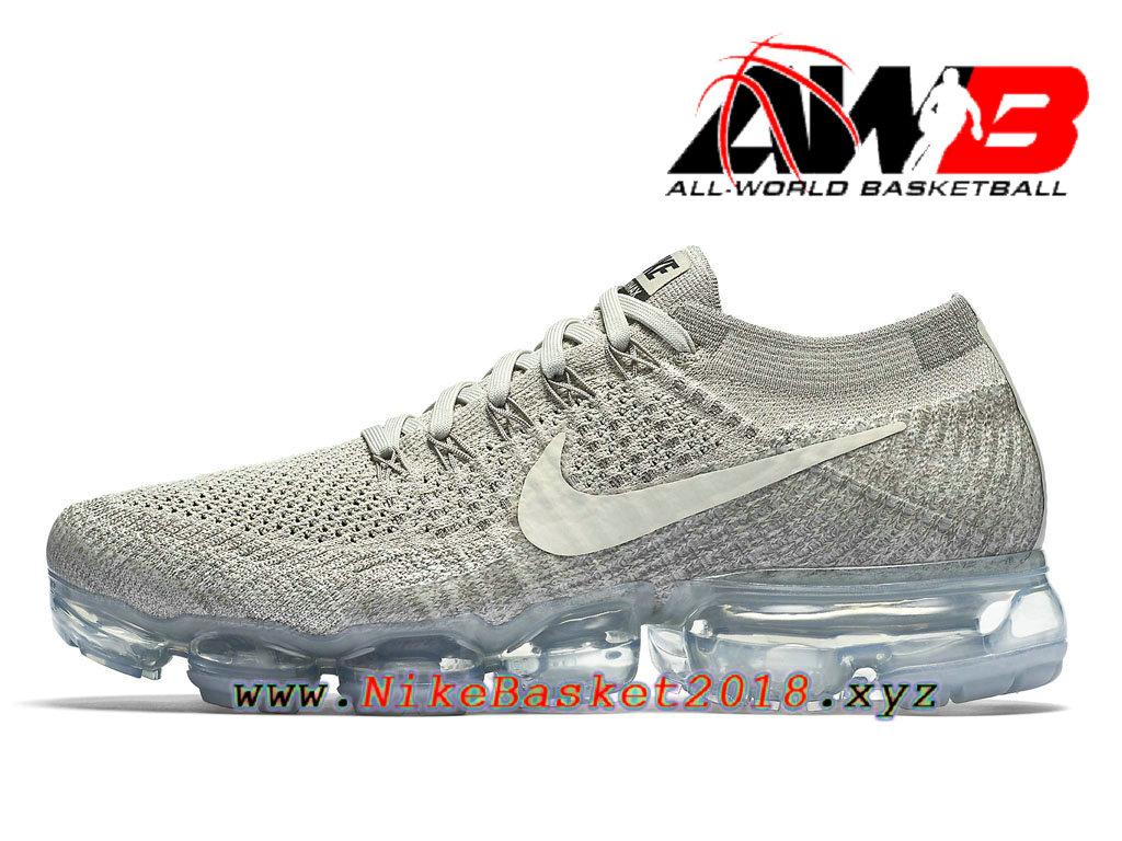 watch cbd1b 06ee9 Chaussures de Prix Pas Cher Pour Femme Nike WMNS Air Vapormax Flyknit GS  Asphalt Pale Grey ...