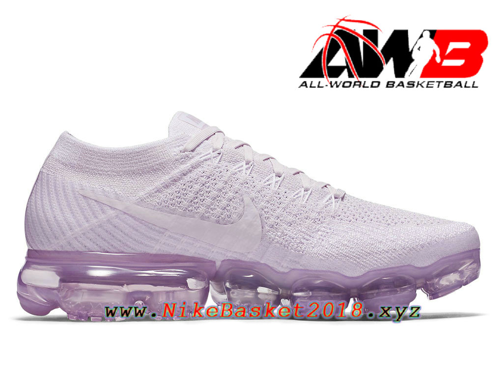 a65a52f072252 ... Chaussures de Prix Pas Cher Pour Femme Nike Wmns Air VaporMax GS Light  Violet 849557- ...