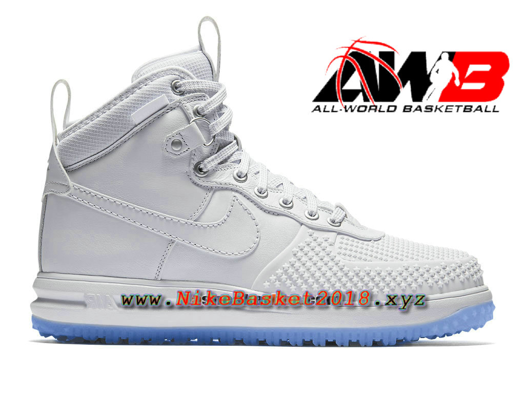 detailed look 4b769 12f46 Chaussures et Sneakers LifeStyle Nike Pas Cher Pour Homme Nike Lunar Force  1 Duckboot Blanc 805899