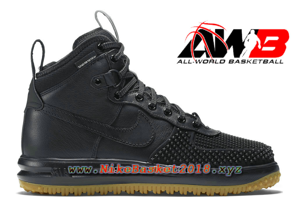 the best attitude b3251 6a4bf Chaussures et Sneakers LifeStyle Nike Pas Cher Pour Homme Nike Lunar Force  1 Duckboot Bleu 805899 ...