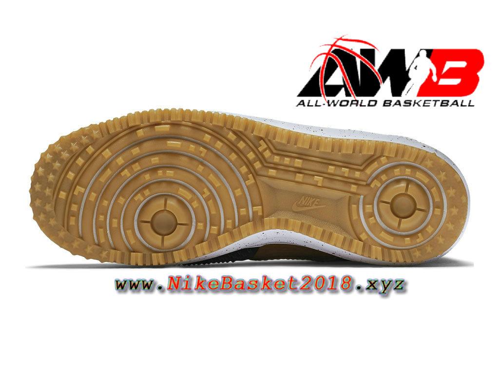 cheap for discount 5e946 ea8a5 ... Chaussures et Sneakers LifeStyle Nike Pas Cher Pour Homme Nike Lunar  Force 1 Duckboot Noir Brun