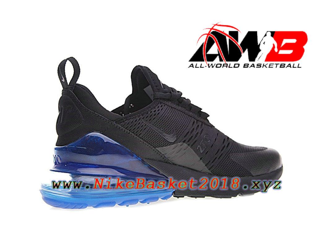 chaussure nike air max 270 noir et bleu