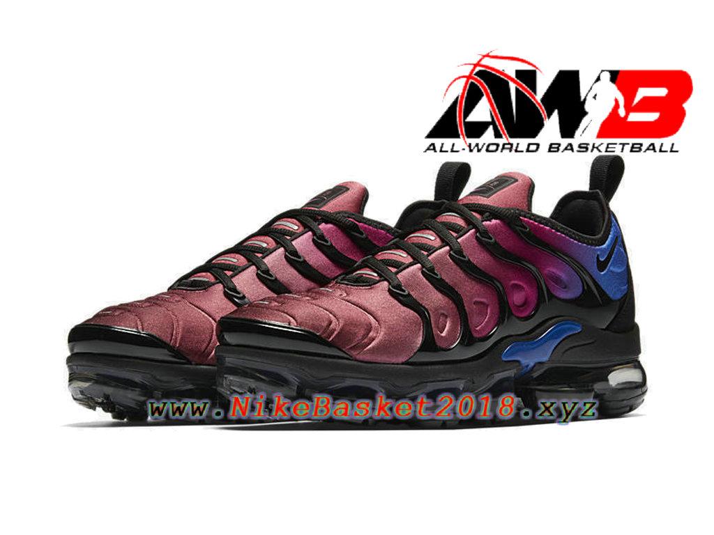 e790a18faf0ee ... Chaussures Nike Basket Pas Cher Pour Femme/Enfant Nike Wmns Air  Vapormax Plus 2018 Bleu ...