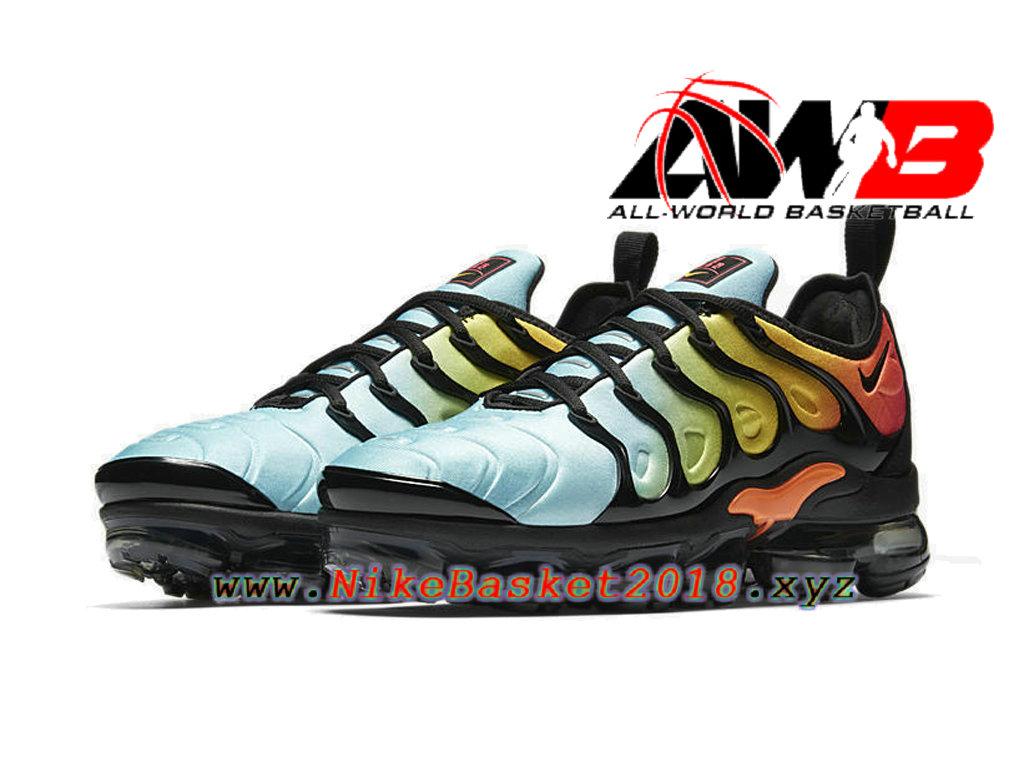 sports shoes ae333 b0cb1 ... Chaussures Nike Basket Pas Cher Pour Femme Enfant Nike Wmns Air  Vapormax Plus 2018 Vert ...