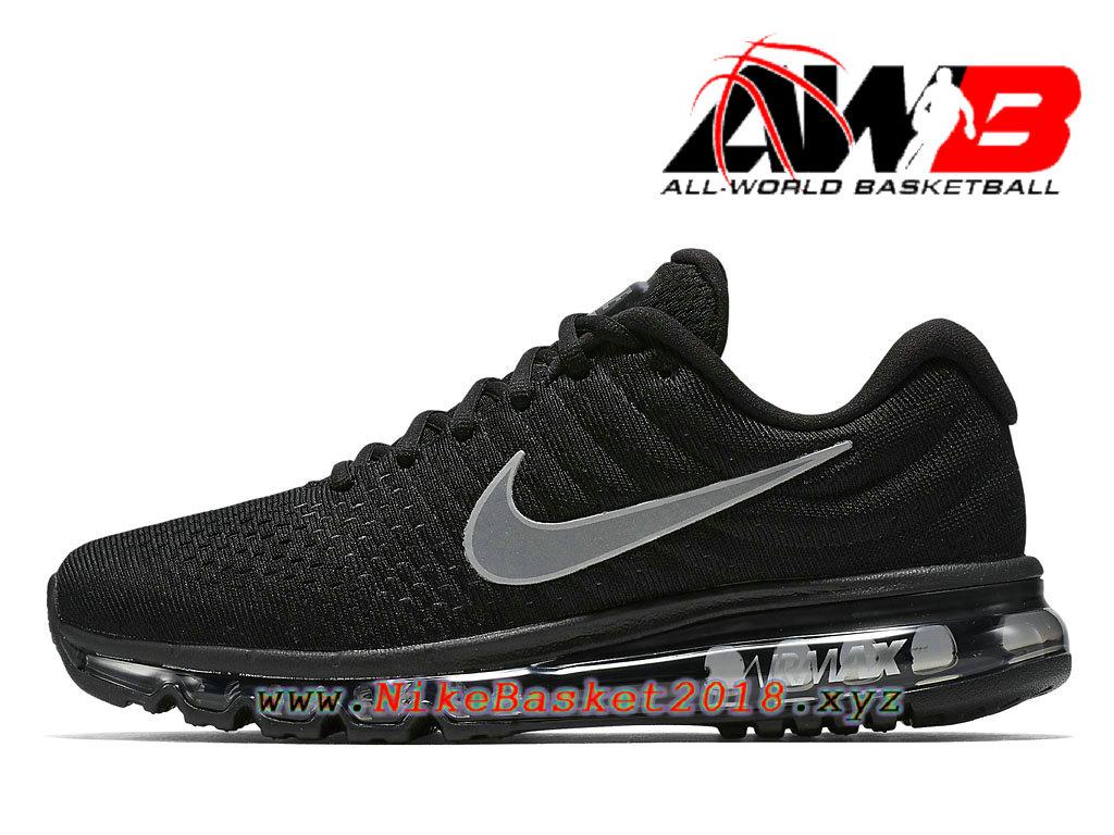 official photos 88677 3295d Chaussures Nike BasketBall Pas Cher Pour Homme Nike Air Max 2017 Noir Blanc  849559 001