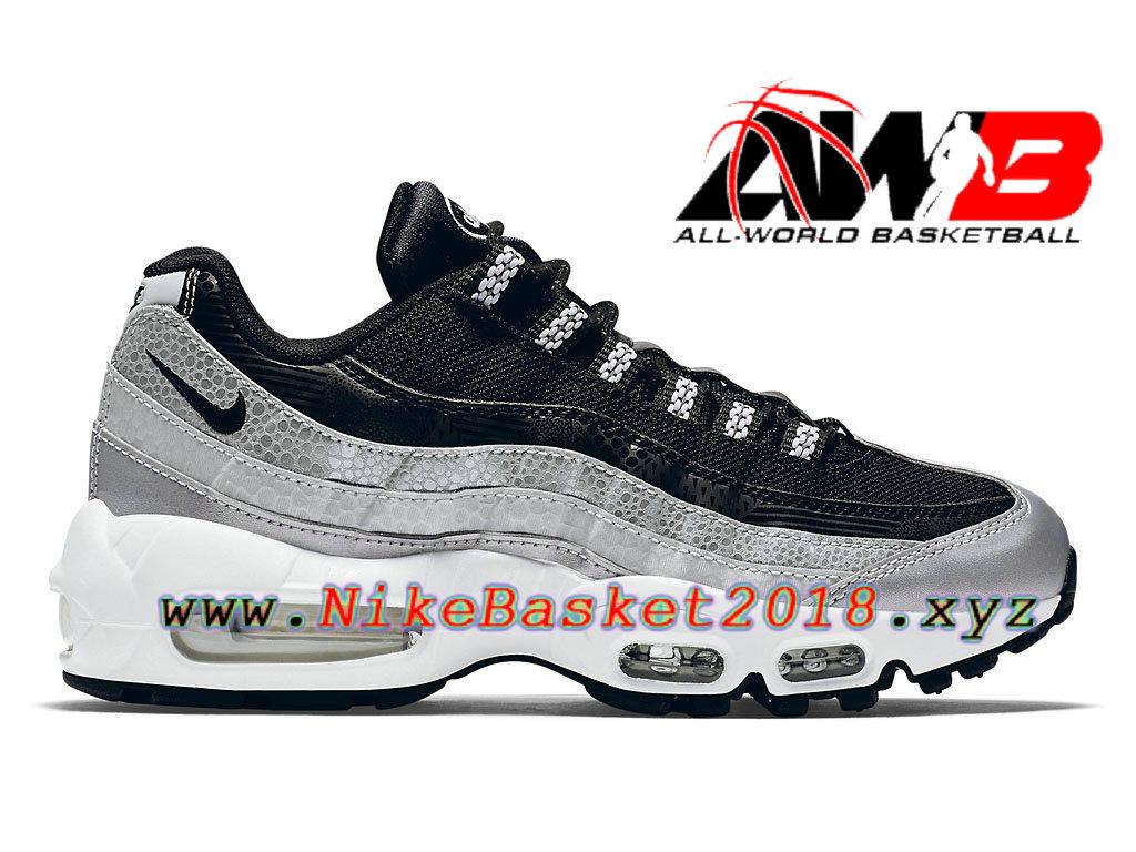 uk availability 16b08 e43d3 Chaussures Nike Prix Pas Cher Pour Femme Enfant Nike Air Max 95 OG GS Noir