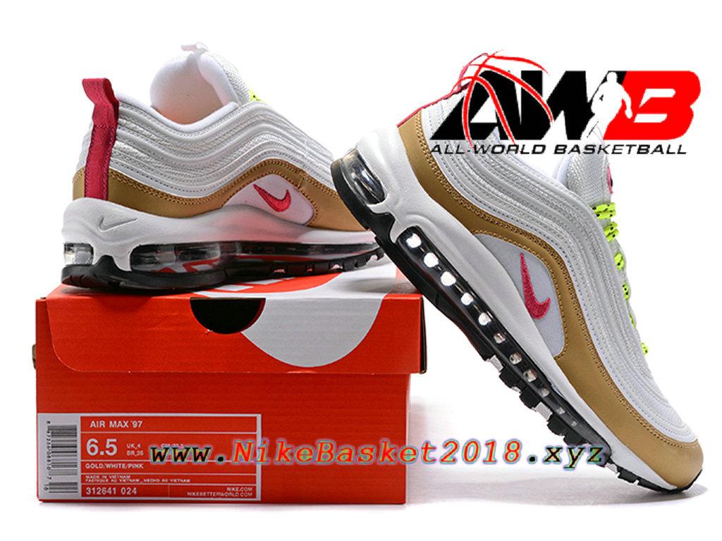 Chaussures Nike Prix Pas Cher Pour FemmeEnfant Nike Air Max 97 Blanc Brun 1801240689 Nike Site Officiel | Boutique de Chaussures de Basketball!