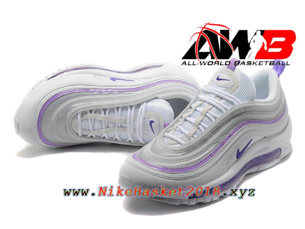 Nike Air Max 97 in dunkel lilaweiß Foto