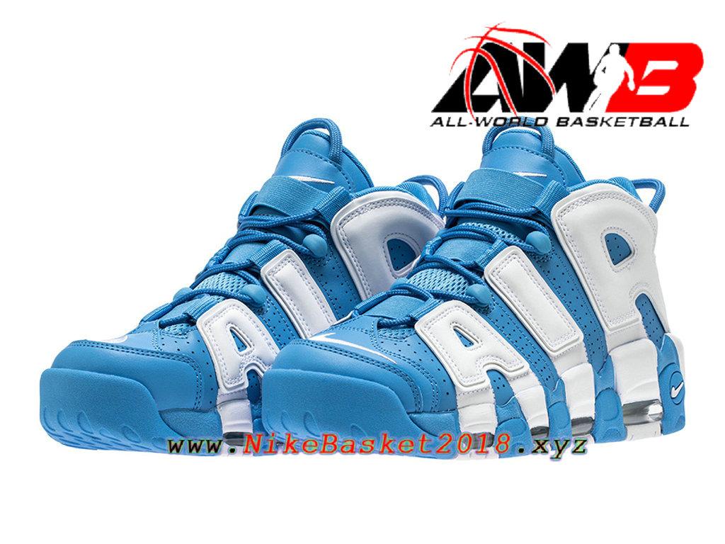 1b6f6f744d32 ... Chaussures Nike Prix Pas Cher Pour Homme Nike Air More Uptempo ´96 Bleu  Blanc 921948 ...