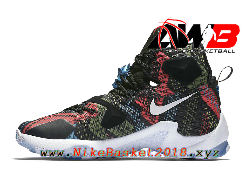 5923dd2e6a8434 ... australia chaussures nike prix pas cher pour homme nike lebron 13 bhm  black history month vert