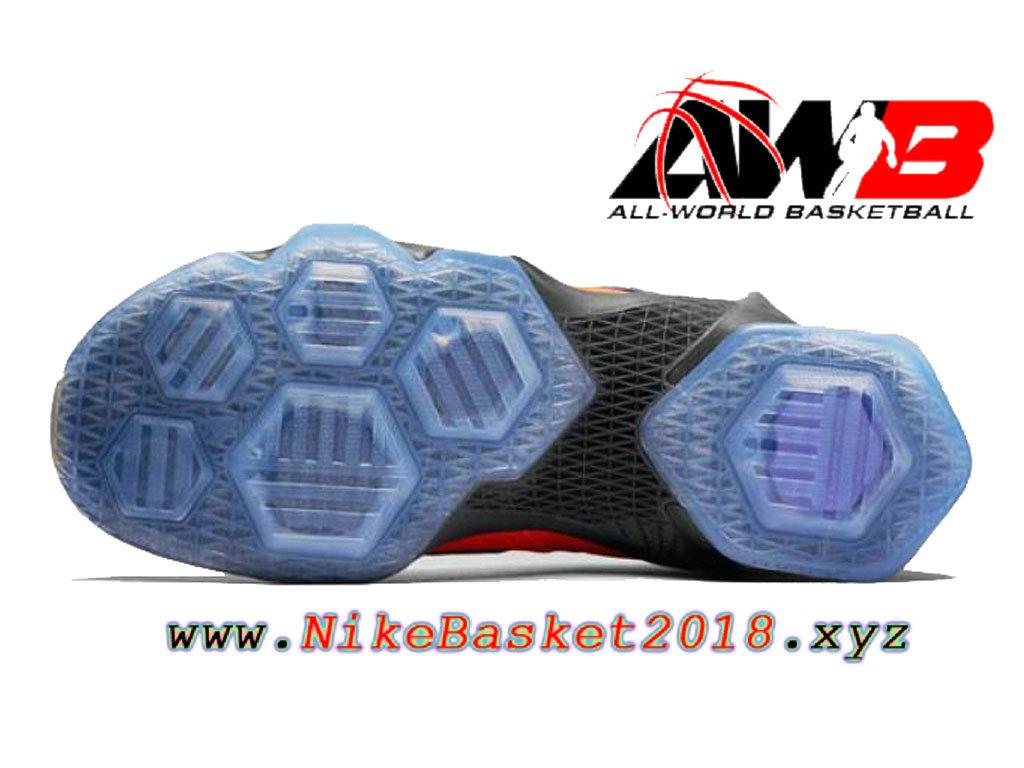 16c557023fe ... Chaussures Nike Prix Pas Cher Pour Homme Nike LeBron 13 Doernbecher  Rouge Bleu 838989-805 ...